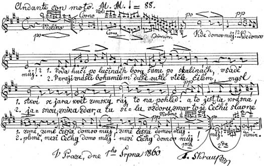Гимн Чехии Чешский гимн