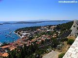 Вид с Града Хорватия отдых 2013