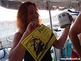 Вручение дипломов на яхте2 Хорватия отдых 2013