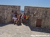 Зашитная оборона Хвара Хорватия отдых 2013