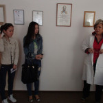 Посещение медицинской средней школы 2014 Выставка 2014 весной в Москве
