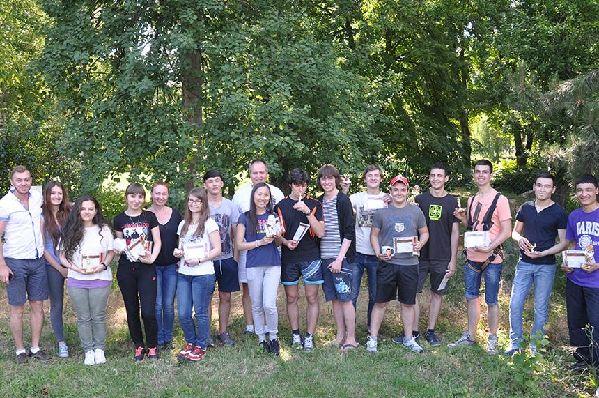 Чехия студенты