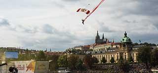 Red Bull Air в Праге