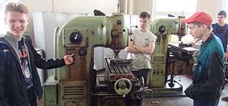 Посещение технической школы