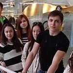 Посещение медицинской средней школы 2014