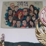 Вручение наград студентам Не бегайте в метро (Прага)
