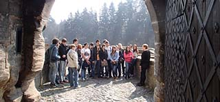 Поездка замок Кост