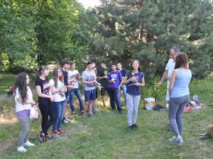 верёвочный-парк-выходные2 Вручение наград студентам, курсов чешского языка 2013/2014