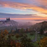 Осенний отдых в Чехии Вручение сертификатов студентам годовых курсов 2014/15