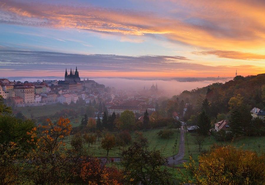 Осенний отдых в Чехии