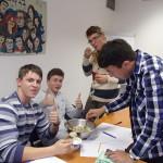 Жизнь студентов в не учёбы Посещение замка и технического музея