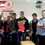 Вручение сертификатов 2015 (младшей группе) Надёжная фирма 2015