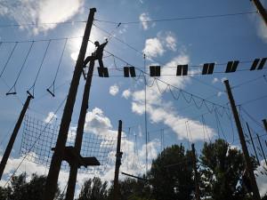 верёвочный-парк-пруд Вручение наград студентам, курсов чешского языка 2013/2014