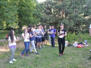 верёвочный-парк-выходные Вручение наград студентам, курсов чешского языка 2013/2014