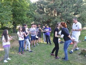 верёвочный-парк2 Вручение наград студентам, курсов чешского языка 2013/2014