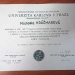 Карлов университет поступление Уровни знания чешского языка