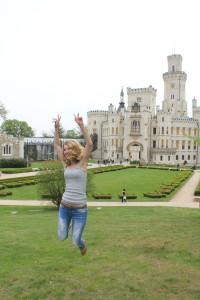 30.04.2015 экскурсия в замок Средневековый готический замок Глубока-над-Влтавой
