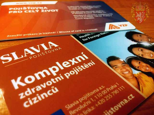 Медицинская страховка в Чехии (карточка)