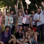 Вручение сертификатов студентам годовых курсов 2014/15 Надёжная фирма 2015