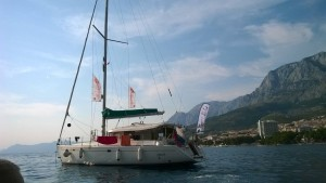 """Наша яхта для путешествий Тем временем """"Победительница поездки на яхте по Хорватии"""""""