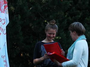tretje-mesto-zanyala-studentka-2015 Вручение сертификатов студентам годовых курсов 2014/15