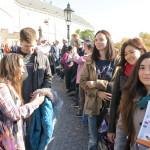 Первая познавательная прогулка по Праге 2015/16 Покорение Карлштейна студентами Института Чешских Университетов 2016