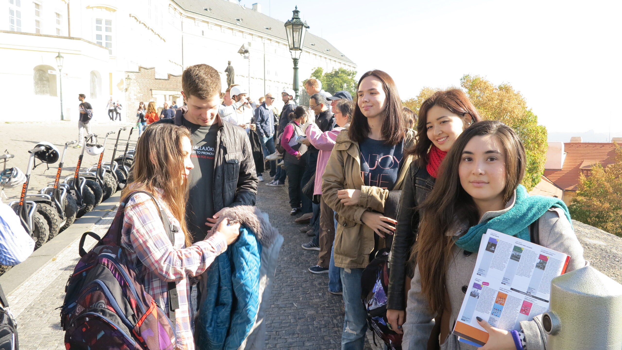 Первая познавательная прогулка по Праге 2015/16