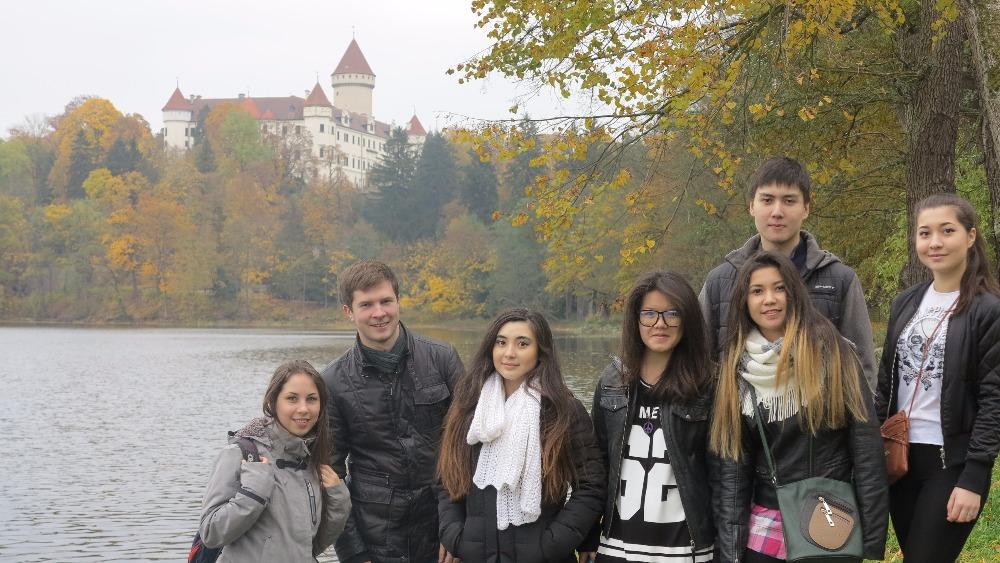 Поездка в замок Конопиште 2015