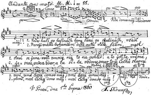 Чешский гимн