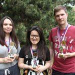 Фотографии с вручения сертификатов об окончании годового курса чешского языка 2015/16 Вышеград 2014/2015