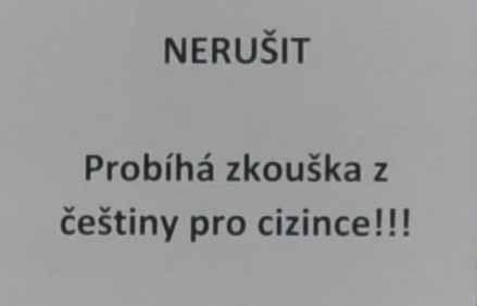 nerusit-probiha-zkouska Долгожданный тест по чешскому языку 2015/16