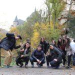 Покорение Карлштейна студентами Института Чешских Университетов 2016 Поездка со студентами в Град Чешский Штемберг 2016