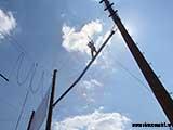Алпинистка 8 метров над землёй
