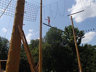 Альпинистский центр 8 метров над землёй