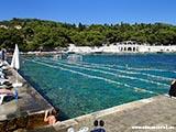 Бассейн из моря Хорватия отдых 2013