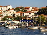 Бензозаправка в Трогире Хорватия отдых 2013