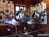 Доспехи коней Замок Конопиште  и Масса впечатлений в «посольстве охоты»