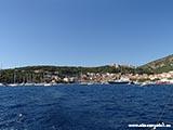 Главная пристань Хвар Хорватия отдых 2013