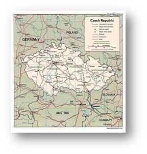 общей границы Чехии Чехия в картинках