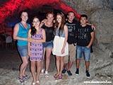 Клуб в нутри горы Хорватия отдых 2013