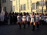 Львівськи Фанфари танцоры Марш Парад «Карлов мост»  или Украинский эксклюзив покоряет Европу