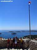 Мы на граде Шпаньёла Хорватия отдых 2013
