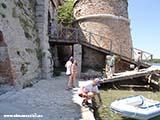 На шлюпке в крепость Хорватия отдых 2013
