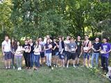 Замок  Кривоклад Вручение наград студентам