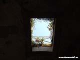 Окна в потолке крепости Хорватия отдых 2013