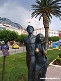 Памятник 100 лет туризму Хорватия отдых 2013