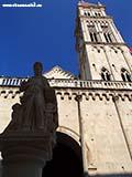 Памятник Трогира Хорватия отдых 2013