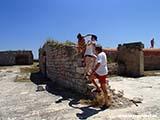 Паркур по крепости Хорватия отдых 2013