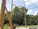 Переправа 8 метров над землёй
