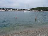 Первый день в Адриатическом море Хорватия отдых 2013